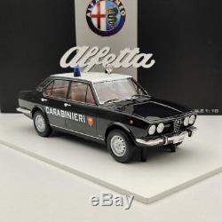 1/18 Tsm 1800 Alfa Romeo Alfetta 1972 Carabinieri Italia Tsm141834r Limited