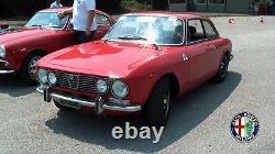 2 Mirror Rearview Mirror Oval Spider Alfa Romeo 105 115 Giulia Alfetta Gt With Kba