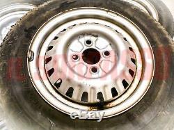 5 Wheel Wheels And Tires Alfa Romeo Alfetta + Giulietta Original