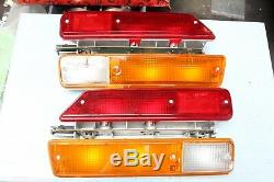 Alfa Romeo Alfetta Gt Gtv Pair Of Taillights Tail Lights Set