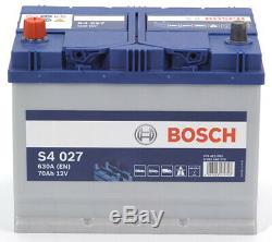 Bosch S4027 Car Battery 70a / H-630a