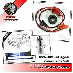 Classic Bmw Performance Pack With Blue Cables Ht 8mm And Viper Sec Reel 2002