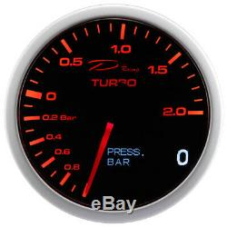 D 2in1 Racing Supercharger View Boost Pressure Oil Pressure Gauge
