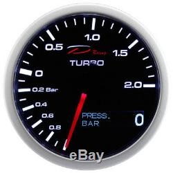 D 2in1 Racing Supercharger View Pressure On Oil Boost Oil Pressure Gauge
