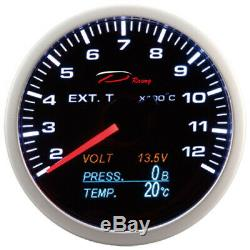 D Racing 4in1 Exhaust Gas Temperature Display The Pressure Oil V