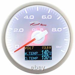 D Racing 4in1 Pressure Show Temperature Of Multifunctional Water Oil