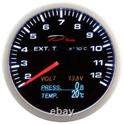 D Racing 4in1 Temperature Of The Exhaust Gases Pressure Display Oil V