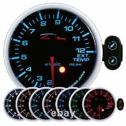 D Racing 52mm Exhaust Gas Temperature Show Instrument Exhaust