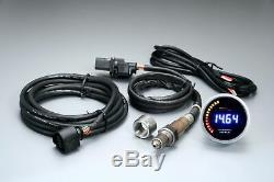 D Racing 52mm Lambda Broadband LCD Instrument Breitbandlambda Output 0-5volt