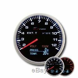 Depo Racing 4in1 Exhaust Temperature Display Oil Oil Gas Pressure