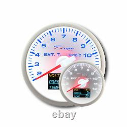 Depo Racing 4in1 Temperature Of Escape Gases Show Oil Pressure