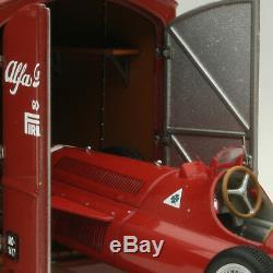 Exoto 43 1951 Alfa Romeo Race Car Racks Alfetta 159 # Exo00002