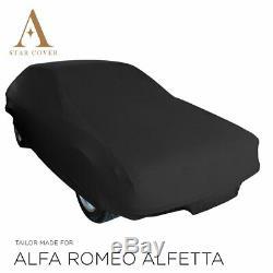 From Tarpaulin Protection Compatible With Alfa Romeo Alfetta Interior To Black