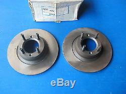 Front Brake Discs Breco For Alfa Romeo Alfetta 1.6, 1.8 And 2.0 75-85