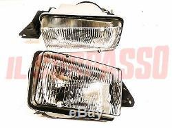 Groups Optics Lights Headlights Right Left Alfa Romeo Alfetta 2000 2400 Mod. 83