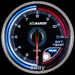 Igauge 256c 60mm Escape Gas Temperature 256 Remote Colors Show