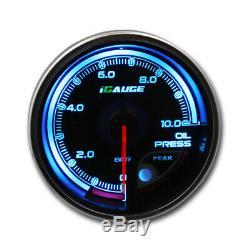 Igauge 256c 60mm Oil Pressure On 256 Color Remote Display Oil Pressure