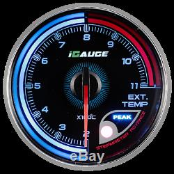 Igauge 256c 60mm Temperature Of Exhaust Gas 256 Colors Remote Display