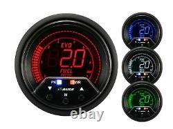 Igauge Evo Premium 60mm Fuel Pressure View Calibre Warn Peak Press