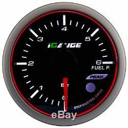 Igauge Wrc Halo Premium 52mm Fuel Pressure Fuel Pressure Display