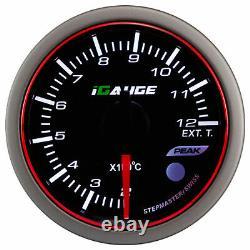 Igauge Wrc Halo Premium 60mm Escape Gas Temperature Show Egt