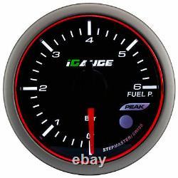 Igauge Wrc Premium Halo 60mm Fuel Pressure View Pressure Calibre