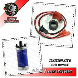 Ignition Electronics 009 & 034 Bosch Distributor With Real Bosch Reel