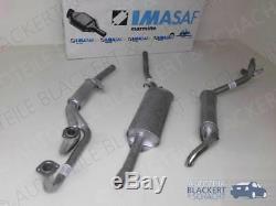 Imasaf Complete Exhaust System Alfa Alfetta Gt 1.8 + Gtv 2.0 1974-1985