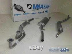 Imasaf Exhaust Complete System Alfa Romeo Alfetta Gt 1.6 (116) 1976-1982