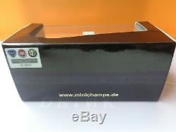 Minichamps 1/43 Alfetta Gtv 6 2.5 Red L 1983 Minichamps # 400 120140