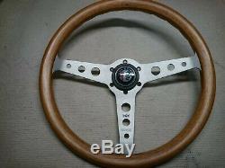 Momo Wheel Wood 1983 Indy 380 Alfa Romeo Gtv Guilleta Alfasud Alfetta Wood 38