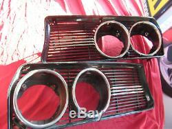 Original Alfa Romeo Alfetta 1st Series Grille Left + Right 116085420000