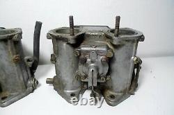 Pair Carburetor Dellorto Alfa Romeo Gtv Alfetta Gtv