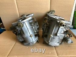 Pair Carburetors Dell'orto Dhla 40 L Alfa Romeo Giulietta 75 90 Alfetta