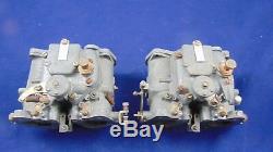 Pair Carburetors Double Body Solex C40ddh Alfa Romeo Giulia 1.3-1.6 Alfetta