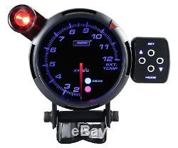 Prosport 80mm Exhaust Gas Temperature Indicator Display Exhaust