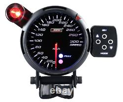 Prosport 80mm Speed View Calibre Meter Pic Instrument Warning