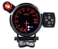 Prosport 80mm Temperature Of Escape Gas Show Escape Indicator