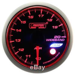 Prosport Wrc Halo Premium 52mm Lambda Wide Band Instrument Show