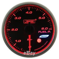 Prosport Wrc Halo Premium 60mm Fuel Pressure Fuel Instrument Show