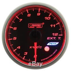 Prosport Wrc Halo Premium 60mm Temperature Of Exhaust Gas Instrument LCD