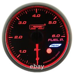 Prosport Wrc Premium Halo 60mm Fuel Pressure Display Instrument Jdm