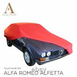 Protection Cover Compatible With Alfa Romeo Alfetta For Red Interior