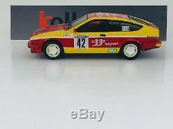 Provence Molding Alfa Romeo Alfetta Gtv6 33 Export No. 42 Rally Cevennes 1985 1.43
