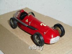 Rare Alfa Romeo Alfetta Mrf 158 1950 Limited Edition 1/43 Resin Factory Built