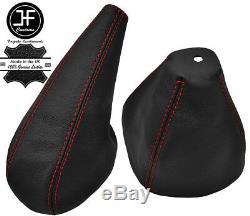Red Surpiq Leather Bellows Lever Hand For Alfa Romeo Alfetta Gtv6 74-86
