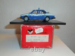 Tron 143 Alfa Romeo Alfetta 2.0 Polizia Police Car Ar 1977 Factory