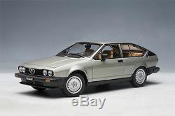 1/18 AUTOart Alfa Romeo Alfetta 2.0 Gtv 1980 Argent Argent
