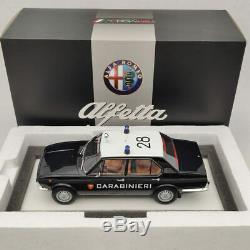 1/18 TSM Alfa Romeo Alfetta 1800 1972 Carabinieri Italia TSM141834R Limited