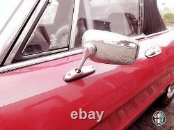 2 Mirror Rétroviseur Ovale SPIDER Alfa Romeo 105 115 Giulia Alfetta Gt Avec Kba